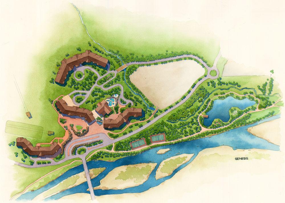 site plan renderings