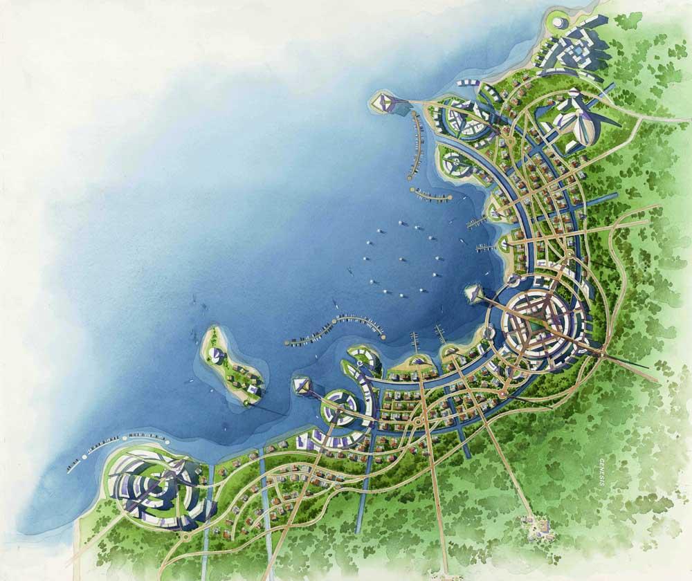 10 Island Resort Floor Plan