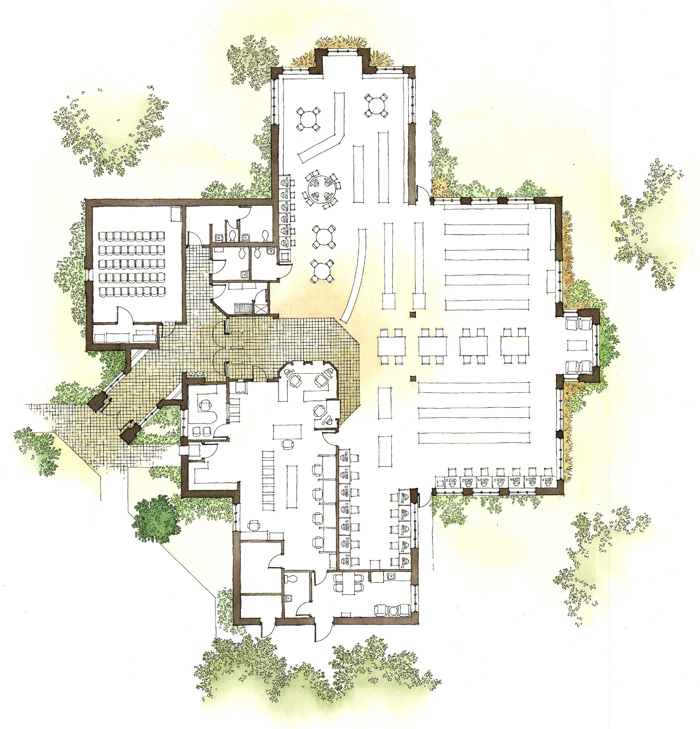 Floor plans elevations genesis studios inc for Floor plans architecture