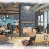 Digital Conceptual Renderings of Caribou for Shea Design