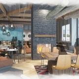 Digital Conceptual Renderings of Caribou for Shea Design