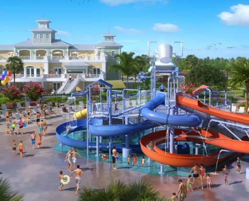 City_Homes-Encore_Water_Park-Architectural Renderings