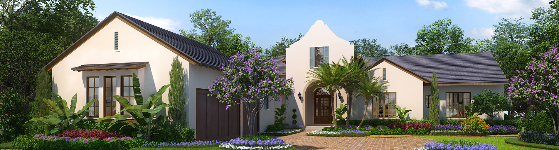 515194 Digital Photorealistic Architectural Rendering of Lake Nona Lot 53 for Issa Homes
