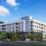 616004 Digital Architectural Renderings of Jamboree Multi Family Residence from an Exterior View for UDR
