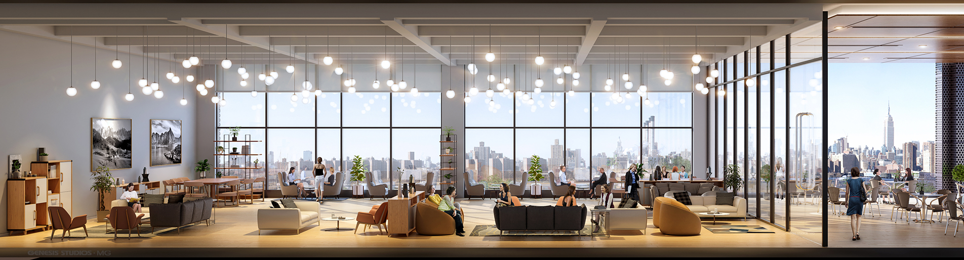 818016- Digital Photorealistic Architectural Renderings of Storm Living Interior for Zoning and Code Consulting Group