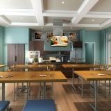 515033 Digital Photorealistic Architectural Renderings of La Morada Culinary for WCI Communities