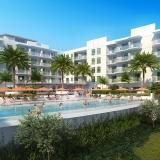 515036 Digital Photorealistic Architectural Renderings of Treasure Island Beach Resort for Curt Gaines Hall Jones Architects