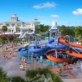 Digital Photorealistic Architectural Renderings of Encore Water Park for City Homes