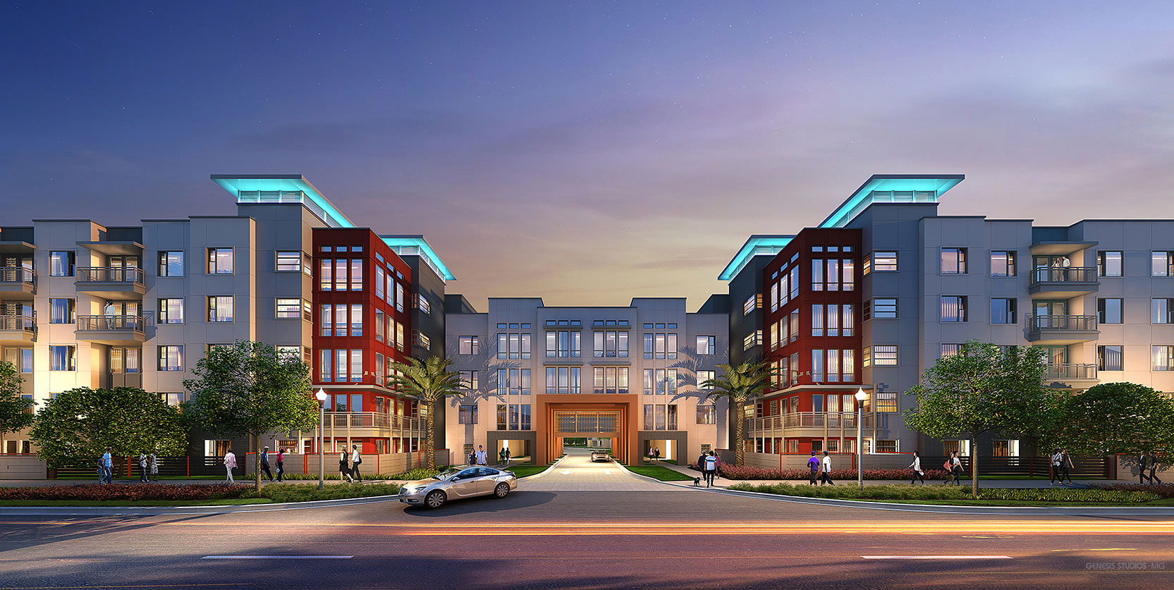 Exterior Photorealistic Architectural Renderings