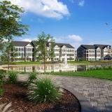 515136 Digital Photorealistic Architectural Renderings of Westbrook Village for Greenview Properties