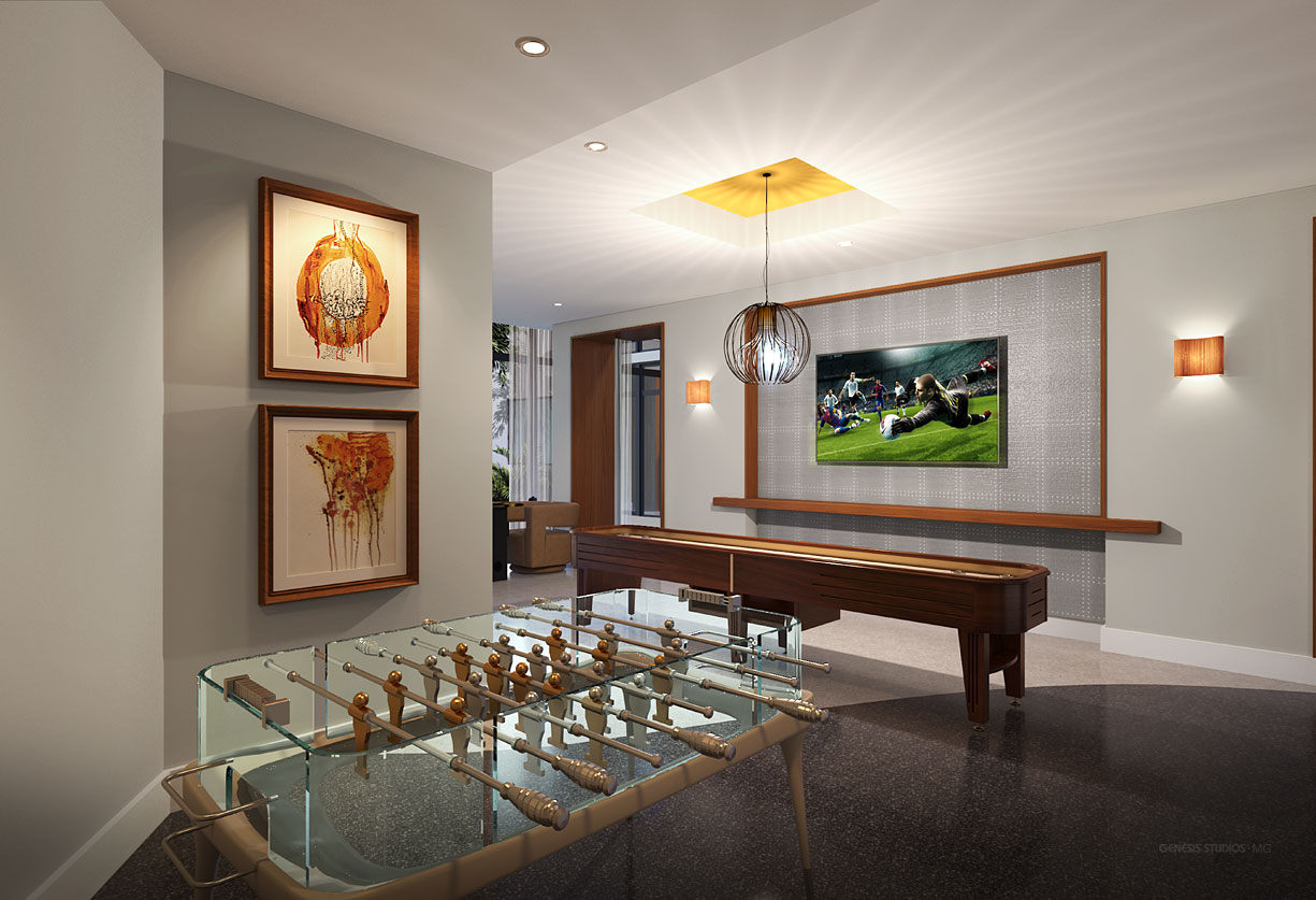 515140 Digital Photorealistic Architectural Rendering of 8800 Doral for Hines