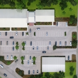515144 Digital Photorealistic Architectural Rendering of Willowbrook Medical Center Site Plan for HDAI Construction