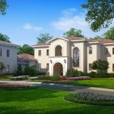 Digital Photorealistic Architectural Renderings of Lake Nona Single Family Home Lot 31 for Cahill Homes
