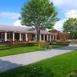 616036 Digital Photorealistic Architectural Rendering of Inverness Depot Bike Path for Verlander