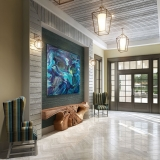 Digital Photorealistic Architectural Renderings of Lake Shore Clubhouse Interior for Rhett Alexander Architects