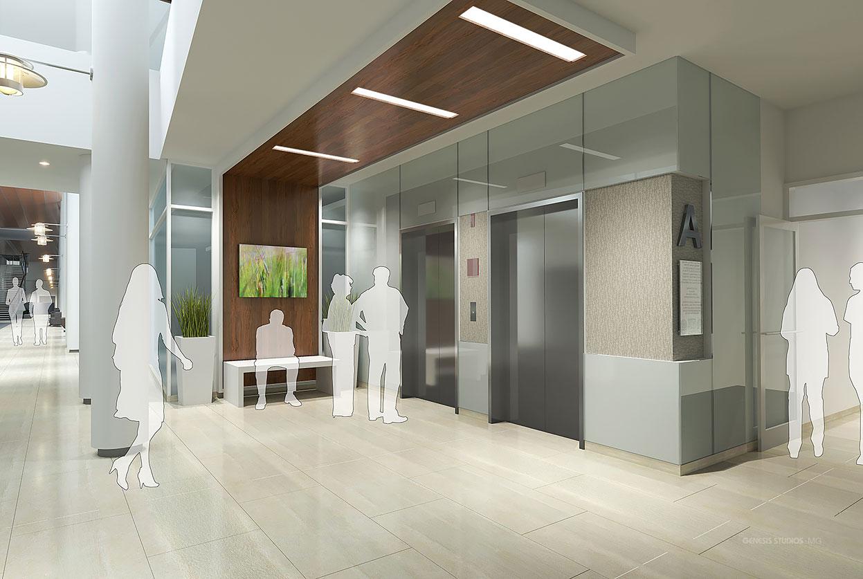 Digital Interior Architectural Renderings