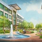 616162- Digital Watercolor Architectural Rendering of Nocatee for ELM Ervin Lovett Miller