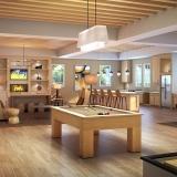 717034 Digital Photorealistic Architectural Renderings of Monterrey Village II Rec Room for MSA Interiors
