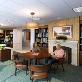 717041 Digital Photorealistic Architectural Renderings of Sun City Senior Living Library for Lantz Boggio Architects