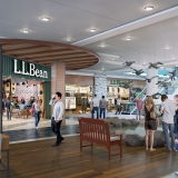 717079 Digital Photorealistic Architectural Renderings of LL Bean Interior for Pyramid Group