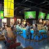 Restaurant Photorealistic 3D Renderings