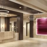 717132 Digital Photorealistic Architectural Rendering of Park Ridge Lobby for Senior Lifestyle Corporation