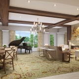 717133 Digital Photorealistic Architectural Renderings of Snellville Great Room for Senior Lifestyle Corporation