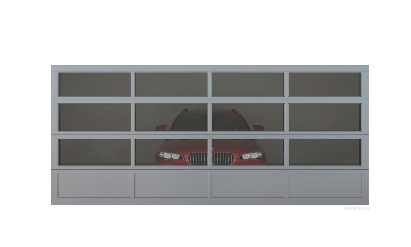 717198 digital photorealistic architectural rendering of garage door for chi overhead doors