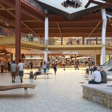 717201 Digital Photorealistic Architectural Renderings of Barnes & Noble Interior for Pyramid Group