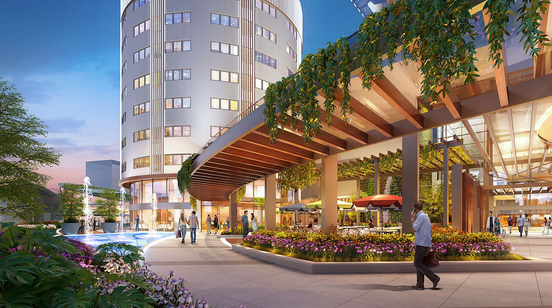 818234 Digital Photorealistic Architectural Renderings of Tijuca Shopping Center for CallisonRTKL