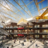 Digital Photorealistic Architectural Renderings of Destiny Mall Scheels Interior for Pyramid Group