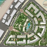 515150 Digital Photorealistic Architctural Site Plan of The Residences at Pacific City for UDR