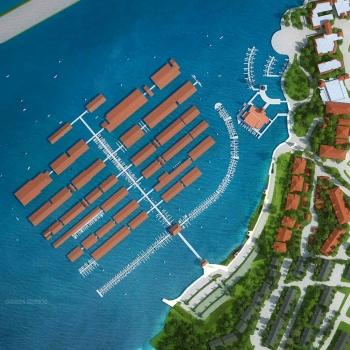 515178 Digital Photorealistic Site Plan of The Harbor for Jim Rosenberg