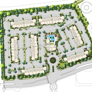 616145 Site Plan of Boynton Village for RAM Realty Services