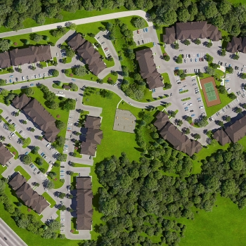717029 Digital Photorealistic Site Plan of Heron Springs for Riverview Management