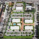 717102 Digital Photorealistic Site Plan of Deerfield Station for RAM Realty Services