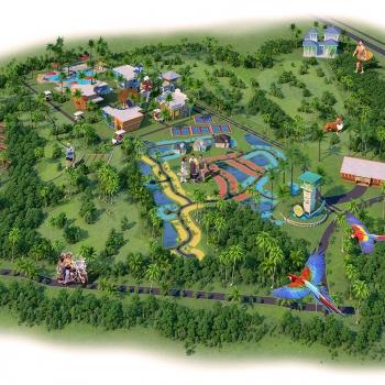 717148 Digital Photorealistic Site Plan of Margaritaville for United Landmark Associates