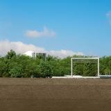 3D Architectural Rendering of ACG Aroria Tank Farm Elevation for MVN Associates