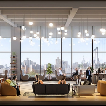 Digital Cutaway Elevation Architectural Renderings of 56 North 9th Street for Zoning and Code Consulting Group