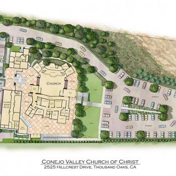 Site Plan of Conejo Valley Church