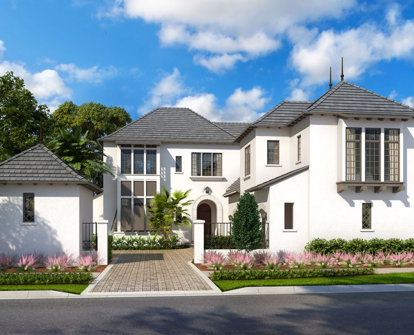 3D Architectural Rendering - Golden Oak Homes