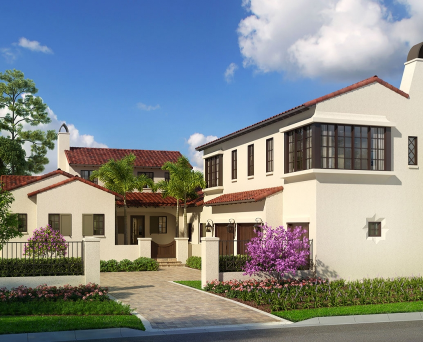 3D Residential Architectural Rendering