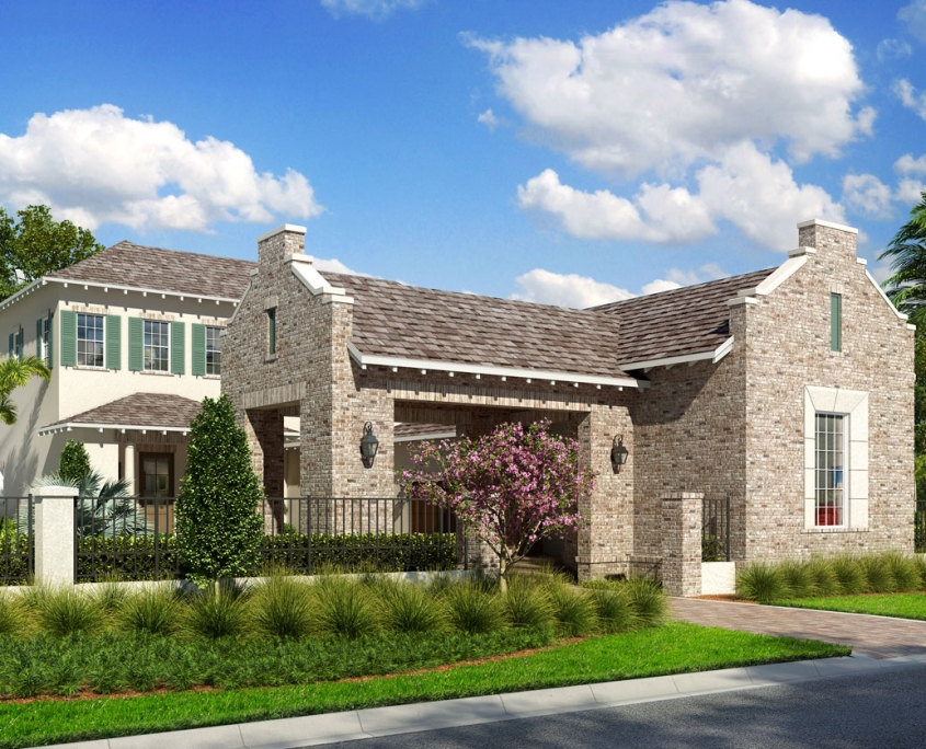 3D Rendering of Single Family Home for Issa Homes