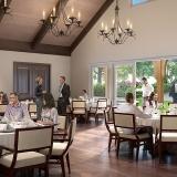 3D Rendering of Lenoir Rhyne University Dining Room