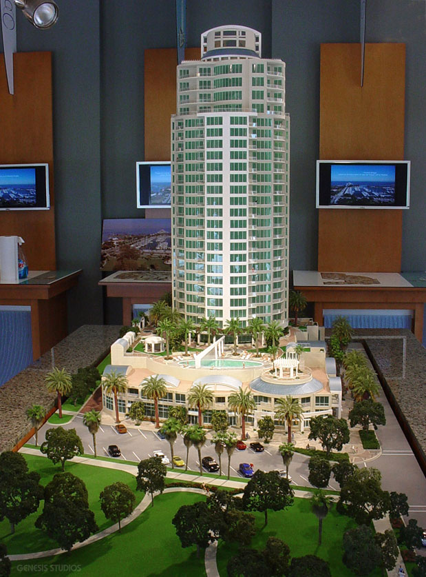 Architectural Scale Model of Ovation Condos
