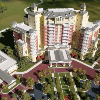 Architectural Scale Model of Reunion Grande Resort