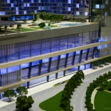 Architectural Scale Model of Marriot Marquis Entrance for Rida Development Company