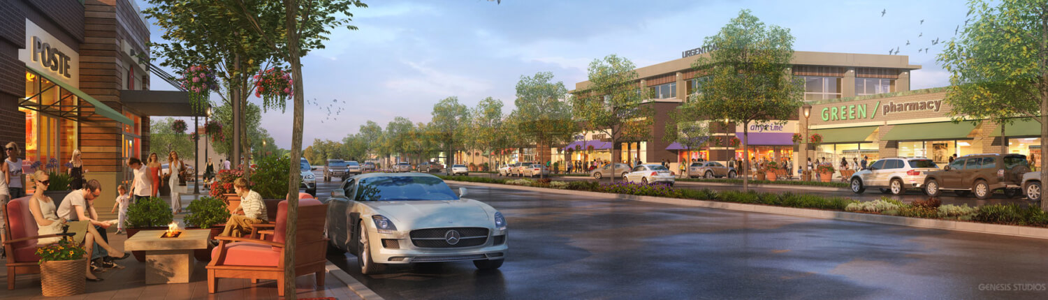 Exterior Photorealistic Architectural Rendering s
