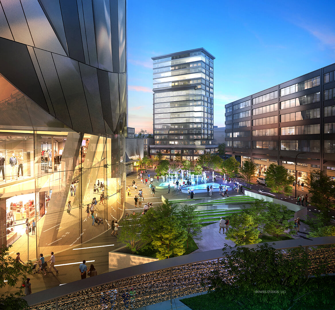 Commercial- Architectural Renderings