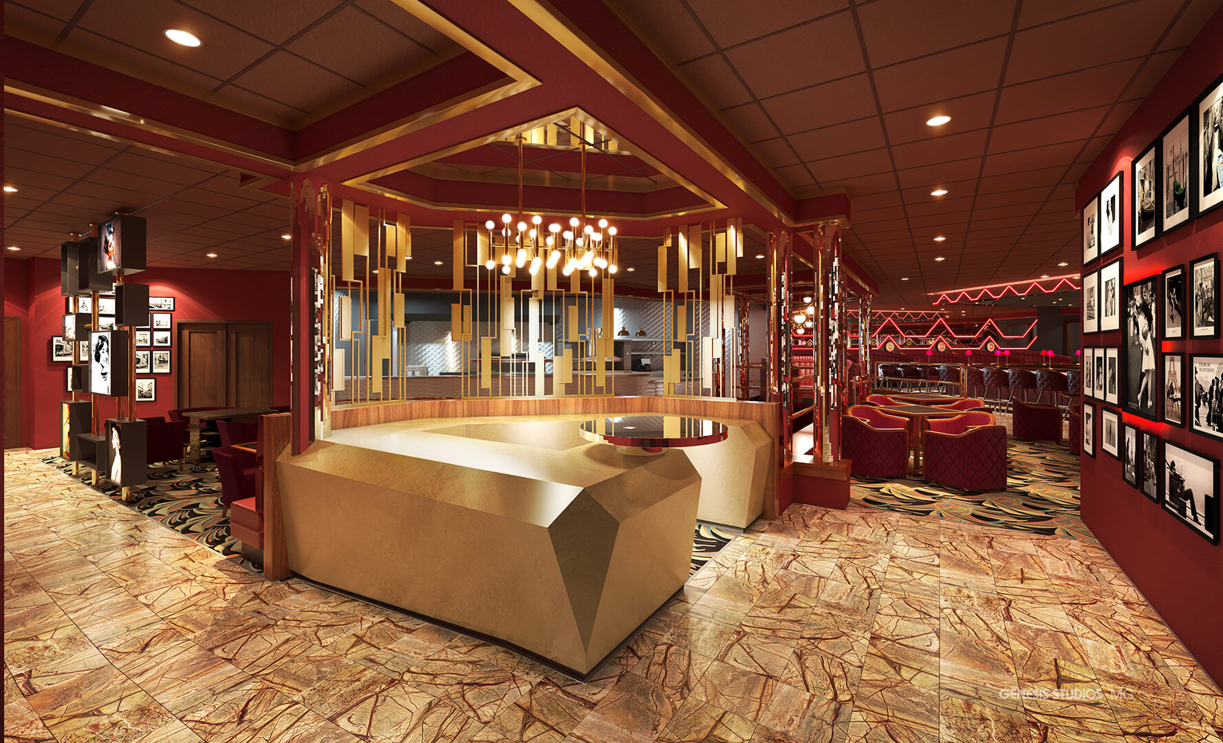 Luxurious Interior Renderings-Commercial